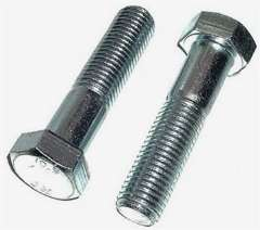 Class 10.9 Metric Hex Head Cap Screws Zinc - 12Mx140Mx1.75