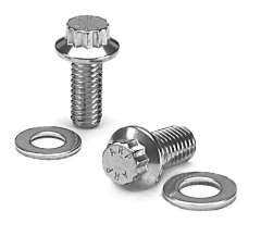 ARP High Strength Stainless Steel 12-Point Flange Bolts - 3/8-24x3-3/4