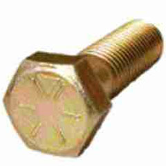 Grade 8 Hex Head Cap Screws - 3/8-24x3-1/4 (10pc)