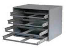 4-Drawer Steel Slide Rack (No Bearings) PSA4LR