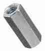 SAE Hex Coupling Nut Zinc - 5/16-24 (5pc)