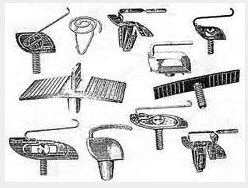 Universal Moulding Clips & Fasteners