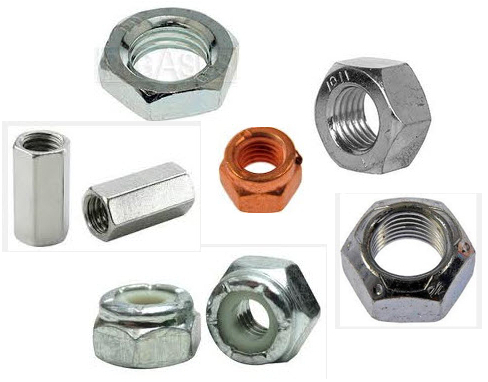 METRIC HEX NUTS - DIN (European)