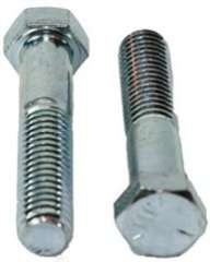 Grade 5 Hex Head Cap Screw Zinc - 5/16-18x2-1/2 (25pc)