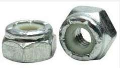 Metric Nylon Insert Lock Nuts Zinc Plate - 8Mx1.25x13AF (50pc)